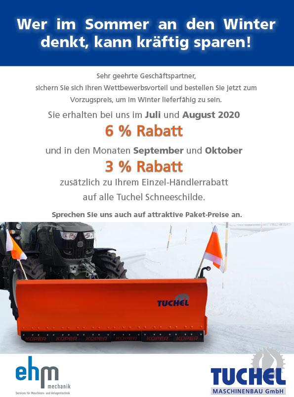 Neue Schneeschild-Aktion 2020 Von Tuchel